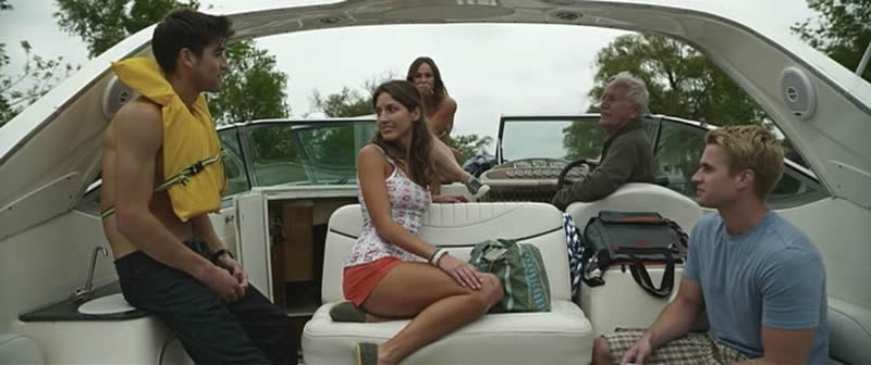 Paranormal Island 2014 Cast Lance Henriksen Ben Elliott Briana Evigan Randy Wayne Sarah Karges