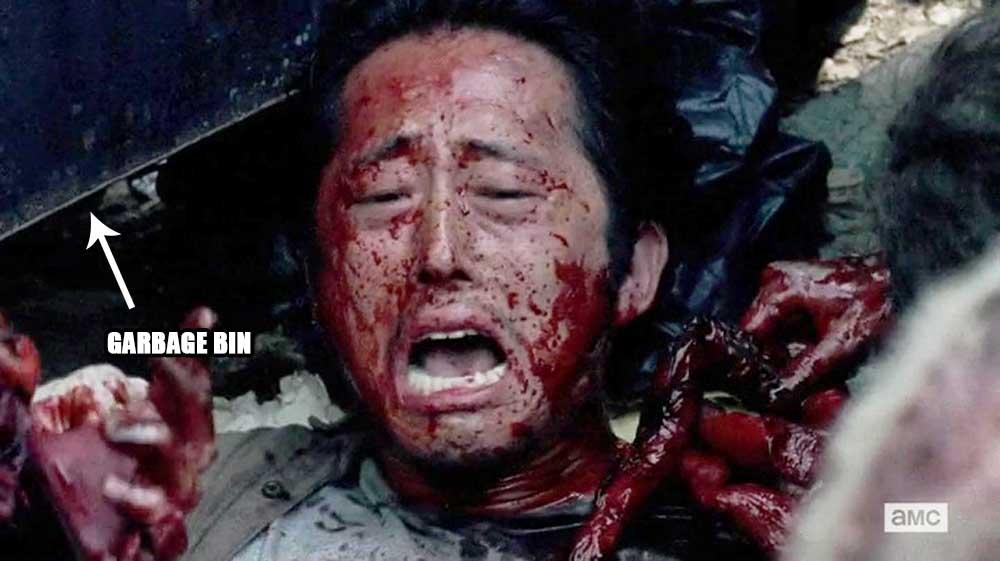 Glenn and the Grabage Bin