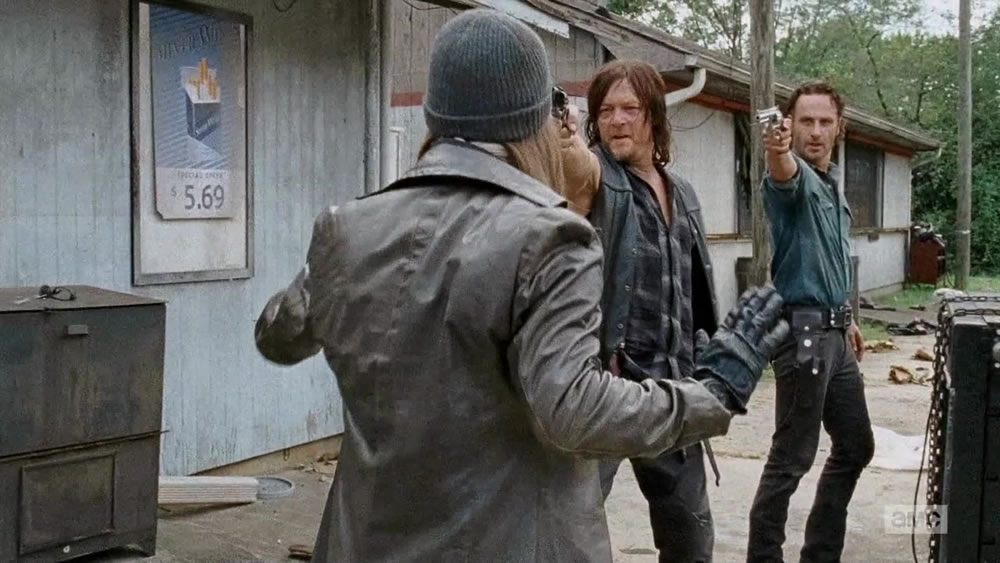 Daryl and Rick's complacency - The Walking Dead